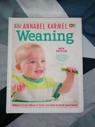 Libro alimentación bebes, weaning