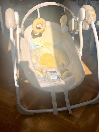 Balancín columpio bebe Electrico