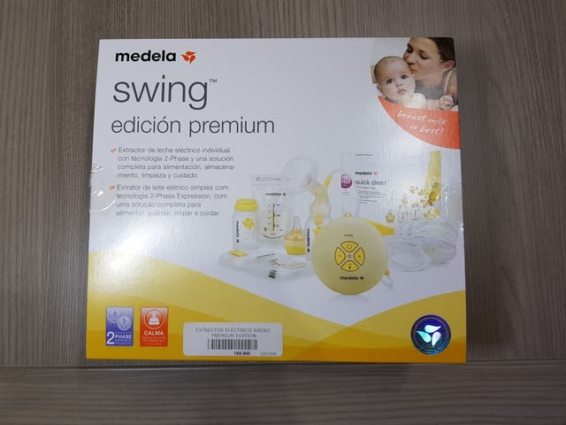 Sacaleches swing premium