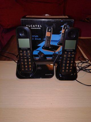 Teléfonos inalambricos Alcatel sigma 260 duo