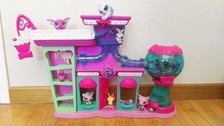 Littlest pet shop casa/tienda/fábrica
