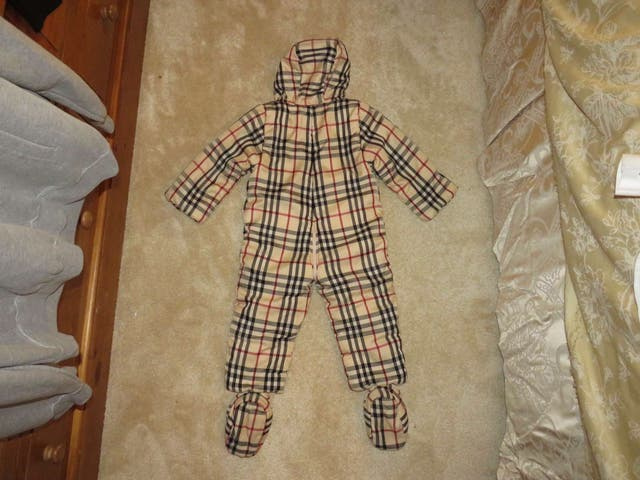 Burberry Baby Snow Suit