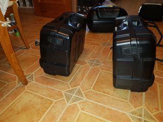k1300 .k1200 .baul soporte alu .maletas y anclaje