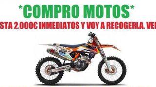 Motos de trial motocross