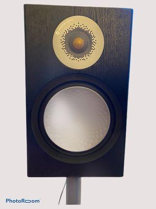 Monitor Audio Silver 100 Pair Bookshelf Speakers