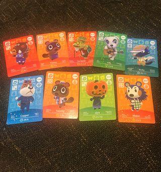 Pack tarjetas de Animal Crossing Amiibo