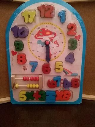 Puzzle de Reloj
