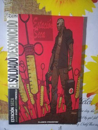 DC cómics .Vértigo cómics. El soldado desconocido.