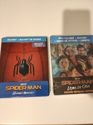 Pack Spiderman Steelbook Bluray