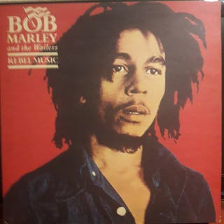 Vinilo Bob Marley. Rebel Music.