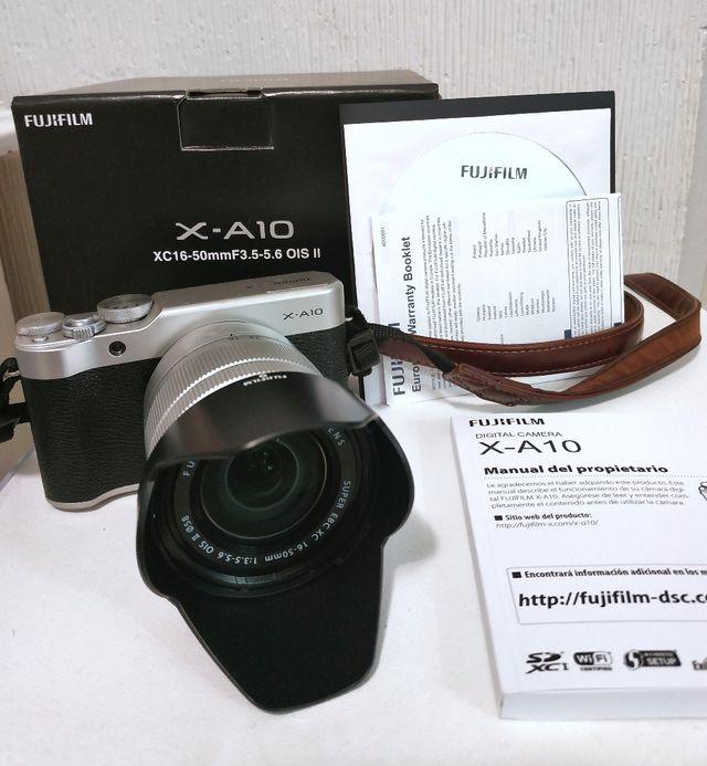 Fujifilm X-A10 XC16-50mm 3.5-5.6 OIS II