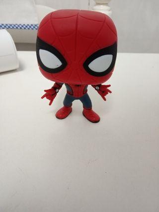 Funko pop Spiderman + póster de vengadores