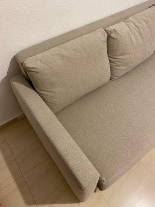 Sofá cama IKEA 3 plazas Friheten Beige
