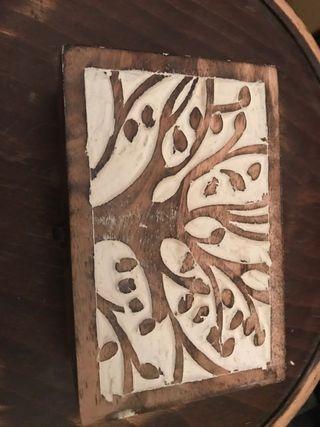 Joyero pequeño madera