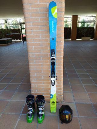 Equipacion esqui Dynastar + Nordika