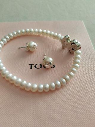 conjunto joyas Tous
