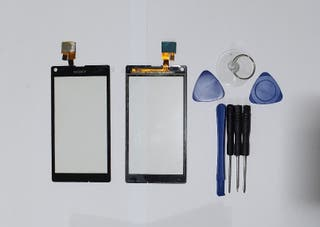 Pantalla táctil negro para Sony Xperia SP M35H