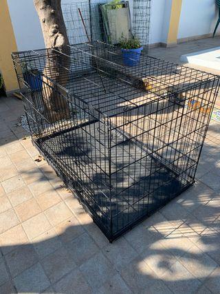 Jaula metálica para perros