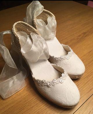 Zapatos de novia 37