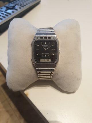 reloj seiko dual time vintage