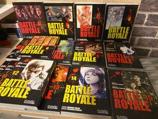 Battle Royale - Todos los comics