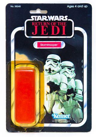 Star Wars Vintage Cardback Stormtrooper 65 Back