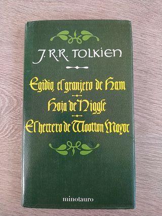 Libro JRR Tolkien con 3 cuentos