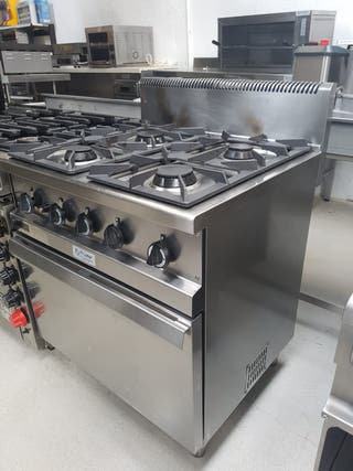 cocina zanussi 4 fuegos con horno