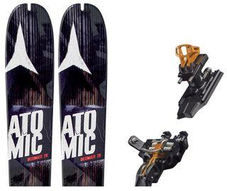 Esquís Atomic Backland 78 UL + Fij. Tour + Pieles