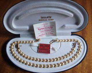 Collar y pulsera Perlas ICULTIU