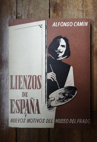 Libro Lienzos de España de Alfonso Camin 1959
