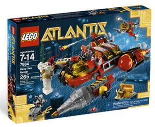 Lego 7984 Atlantis Submarino de asalto