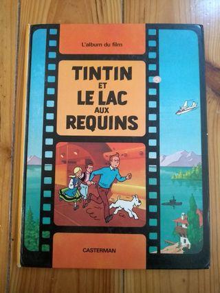 Tintín y el lago de los tiburones 1973 - francés