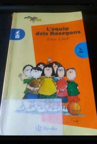 Llibre de lectura L equip dels Rosegons