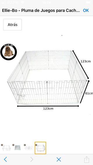 Corral / jaula para perro