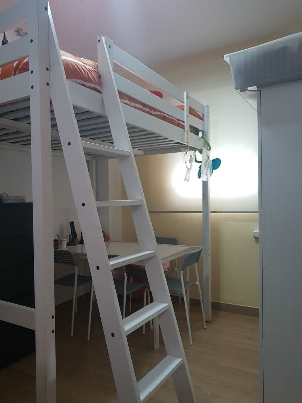 Cama litera de matrimonio Ikea