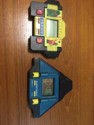 juegos electrónicos años 80