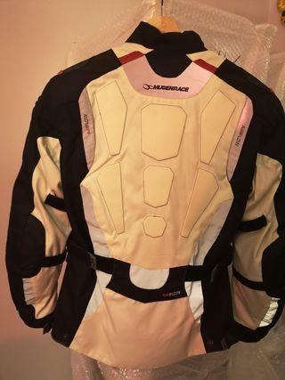 chaqueta moto mujer