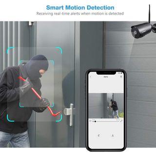 Cámara de seguridad WiFi Cámara CCTV FUllHD nueva