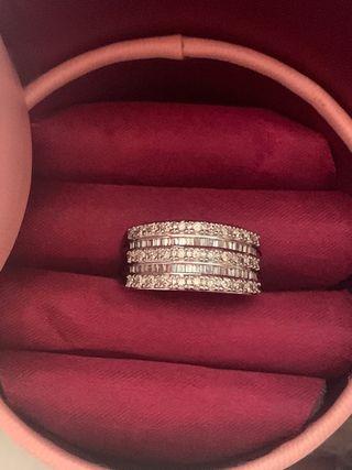 Anillo Tiara diamantes