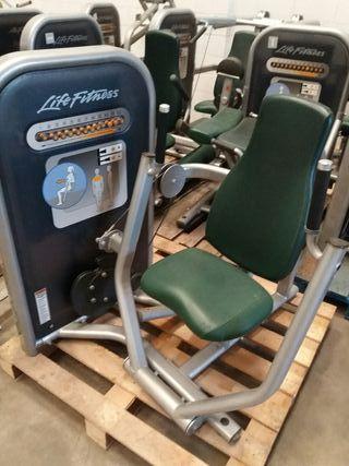 Máquinas de gimnasio life fitness