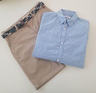 Bermuda y camisa niño Sfera