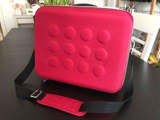 Maletín IKEA rosa