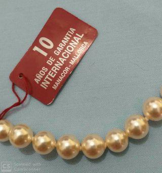 Collar perlas Majorica