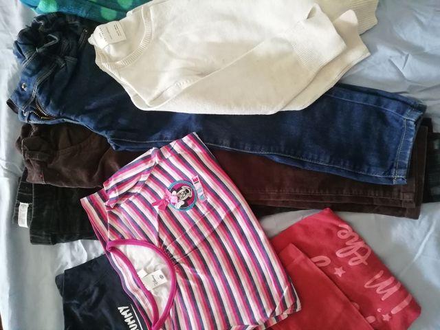 Lote ropa niña 3-4 años