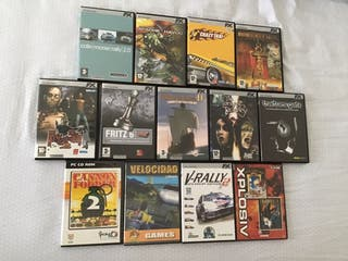 Lote 17 juegos de ordenador