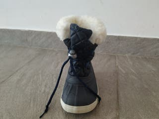 Botas nieve niño talla 24-25
