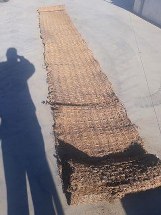 vendo estera antigua 6metros de largo 70cm ancho
