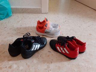botas fútbol y zapatillas deportivas n°30