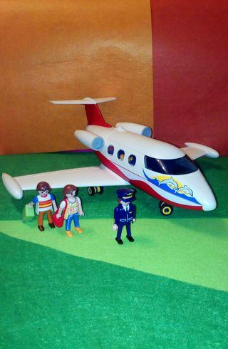 Avión vacaciones Playmobil 6081